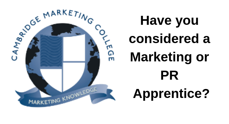 Have you considered a Marketing or PR Apprentice?