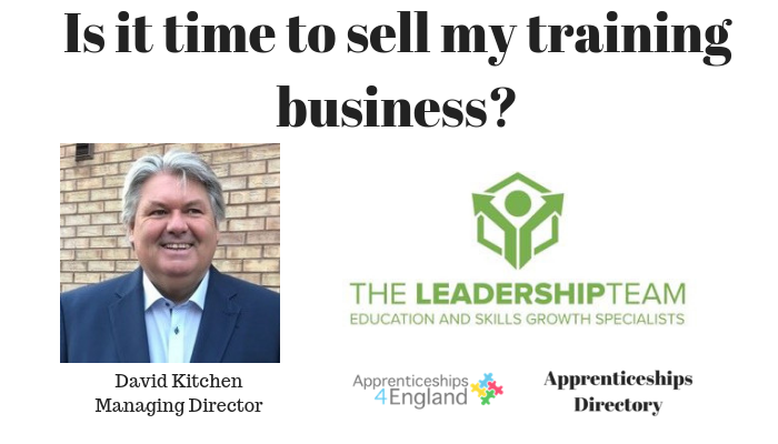 Is it time to sell my training business?