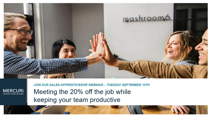 Meeting the 20% off the job while keeping your team productive