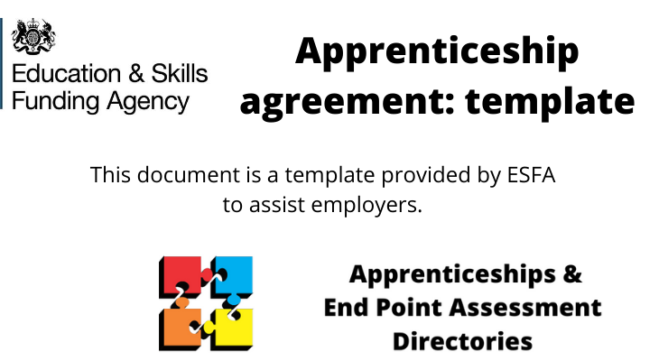 Apprenticeship agreement: template