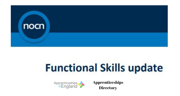 Functional Skills Reform Update