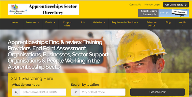 Apprenticeships Sector Directory