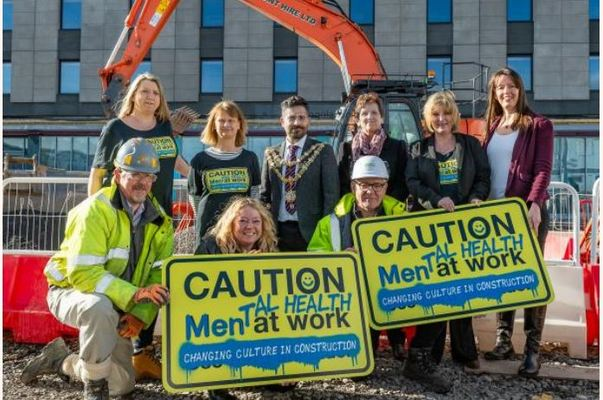Today two construction workers will take their own lives. Male site workers are three times more likely to take their own lives than the average UK male.